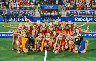 Oranjedames EK Hockey